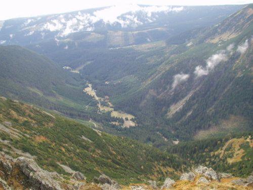 Riesengrund nach Nordböhmen